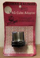 Kalimar Kent AG Cube Adapter for flash camera vintage Japan K454 new in package