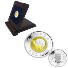 2011 Canada Full Buck Moon $5 Sterling Silver and Niobium Coin - Sale