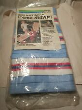 Lace On Lounge Renew Kit Arden Corp Blue/White/Pink Stripes 11 Foot Long