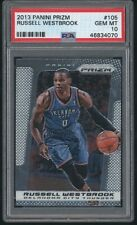 2013 Prizm RUSSELL WESTBROOK Card #105 Thunder 070 PSA 10