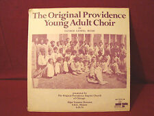 VERY RARE BLACK GOSPEL THE ORIGINAL PROVIDENCE YOUNG ADULT CHOIR -SEALD LP