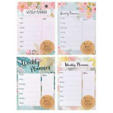A4 Weekly Planner To Do List Desk Note Pad Meal Plan Home Office Tear Off Sheets