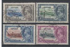 Used George V (1910-1936) Postage Ceylon Stamps