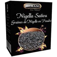 Hemani 200gm Black Seed Blackseed Powder Pure 100% Nigella Sativa Natural US SLR