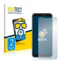 2x láminas protectoras de pantalla para HTC Desire 12s mate antirreflejos