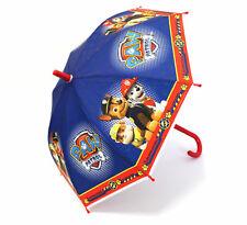 Children Kids Paw Patrol Character Plastic Curved Handle Umbrella