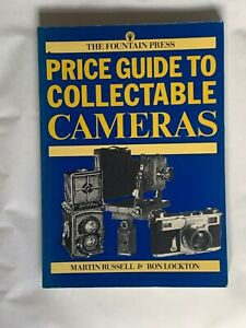 Price Guide to Collectable Cameras, Softback Book. 1986