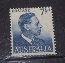 AUSTRALIA 1950-57 7/1/2D BLUE KING GEORGE ISSUE  VERY FINE M/N/H