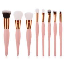 Maquillaje Pincel cosmético Kabuki Premium Kit de 8pc Set Sombra de Ojos en Polvo