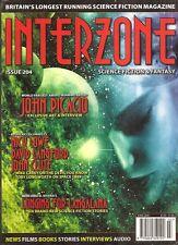 INTERZONE #204 JOHN PICACIO, MIKE CAREY, DAVID LANDFORD, JOHN CLUTE