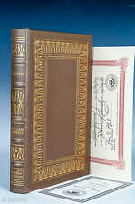 Easton Press Ironweed. William Kennedy Signed Edition with COA. Full Leather