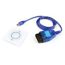 3 Pin OBD 2 VAG 409 KKL USB Ecu Scan Diagnóstico Interface Tool Para Fiat