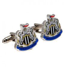 Newcastle united fc crest cufflinks boutons de manchette en velours floqué boîte cadeau de noël