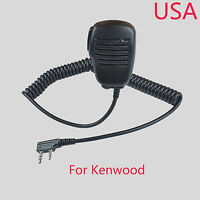 Speaker Microphone mic For Kenwood TK2312 TK3312 TK2360 TK3360 Portable Radio