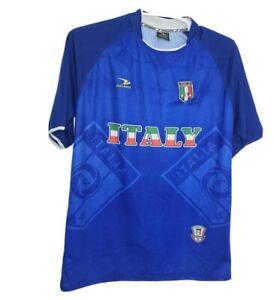 Drako Italy Italia Mens Jersey Soccer Football Blue One Size