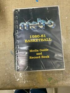 1980-81 METRO CONFERENCE BASKETBALL MEDIA GUIDE