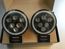 land rover defender 7'' LED Head Lights great quality Kit Car Hot Rod Mini