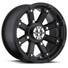 14X7 Vision 393 Lockout 4x115 ET2.5 Matte Black Rims (Set of 4)