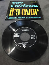 Disque 45 tours Roy Orbison - It's Over - RE 10.163