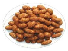 Coated Peanuts, Cajun, 4 lbs-Green Bulk Extra 5% off buy $100+