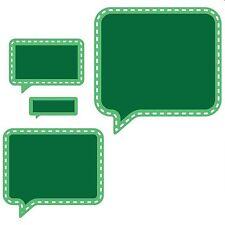 SPELLBINDERS CONVERSATION SPEECH BUBBLE TWO CUTTING DIE D-LITES - NEW