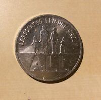 UK Great Britain Associated Leisure Group ALL 10 P. Token