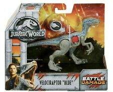 New ListingJurassic World Battle Damage Velociraptor Blue Dinosaur Toy Action Figure New