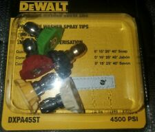Dewalt Pressure Washer Spray Tips 4500 PSI #  DXPA45ST
