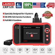 LAUNCH CRP129 Car 4 System Diagnostic Scanner OBD2 Code Reader EPB SAS Oil Reset