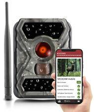 SECACAM mobile Wildkamera - mit SIM-Karte und App Bildübertragung aufs Handy