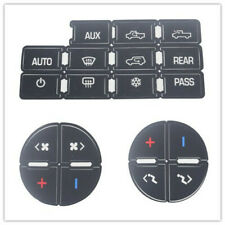 Universal Ac Button Repair parts Decal Stickers For 2007-2014 Chevy Gmc Trucks