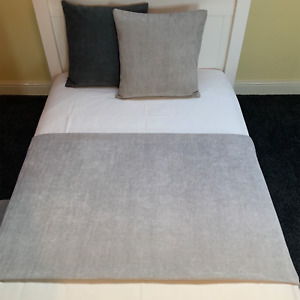 Handmade Fernando Suede Like Bed Runner Throw Home Decor Sofa Cover Blanket