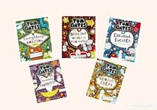Tom Gates Collection x 5 Book Set of titles 1-5  - Brilliant World Brand New