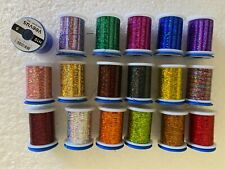 Veevus Holographic Mylar Tinsel Set - Fly Tying