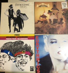 10x Vinyl LP Lot Collection 2 Fleetwood Mac Rumours The The Slade War Humble Pie