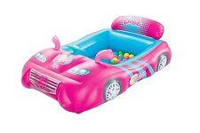 Barbie Children's Kids gonflable voiture sport BALL PIT avec 25 balles incluses