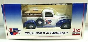 LIMITED EDITION 1940 FORD PICKUP CARQUEST COIN BANK