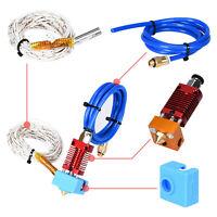 MK8 Extruder Hot End Kit 1,75/0,4mm Nozzle Für Ender CR-10 CR10S 3D Drucker Neu