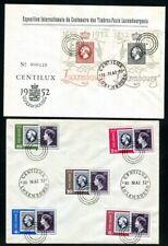 LUXEMBURG 1945-1986 gestempelte praktisch komplette SAMMLUNG 2600€(N9359d