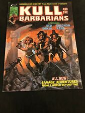 Kull and the Barbarians #3 KEY Origin of Red Sonja! 9-75, cover Solomon Kane!