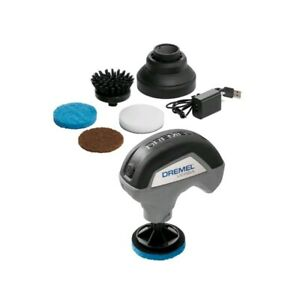 """New"" Dremel Versa Power Scubber Kit Rechargable Waterproof Cleaning Tool"