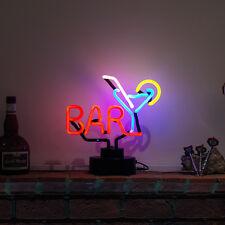 NEON PUB Zeichen (nicht LED) Bar martini cocktail Licht Schreibtisch Wand