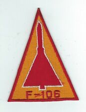 1960s-70s 318th FIS F-106 (RED-GOLD) triangle patch