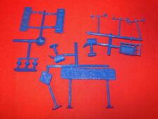 Accessory Set Signs Etc Marx Flintstones Recast Plastic Playset Warehouse Find!