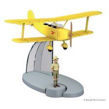 TIM & STRUPPI Biplane Flugzeug Tim Figur Tintin Moulinsart Flugzeumodell (L)*