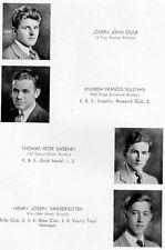 1933 Brooklyn Prep School Yearbook~Photos~HIstory~Football~Baseball~Candids~Ads