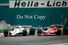 Gilles Villeneuve Ferrari 312 T4 Austrian Grand Prix 1979 Photograph 3