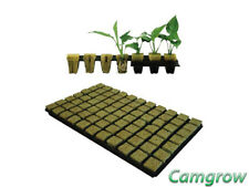 Gordan 36mm SBS Roclwool Propagation Cubes Tray of 77 for seeds or cuttings