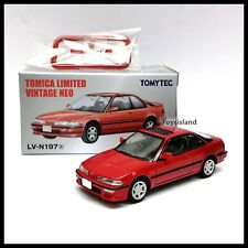 Tomica Limited Vintage NEO LV-N197a Honda Integra 3 door coupe XSi 1/64 TOMYTEC