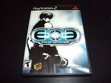 """EOE: Eve of Extinction """"Great Condition"""" (PlayStation 2) Complete PS2"""